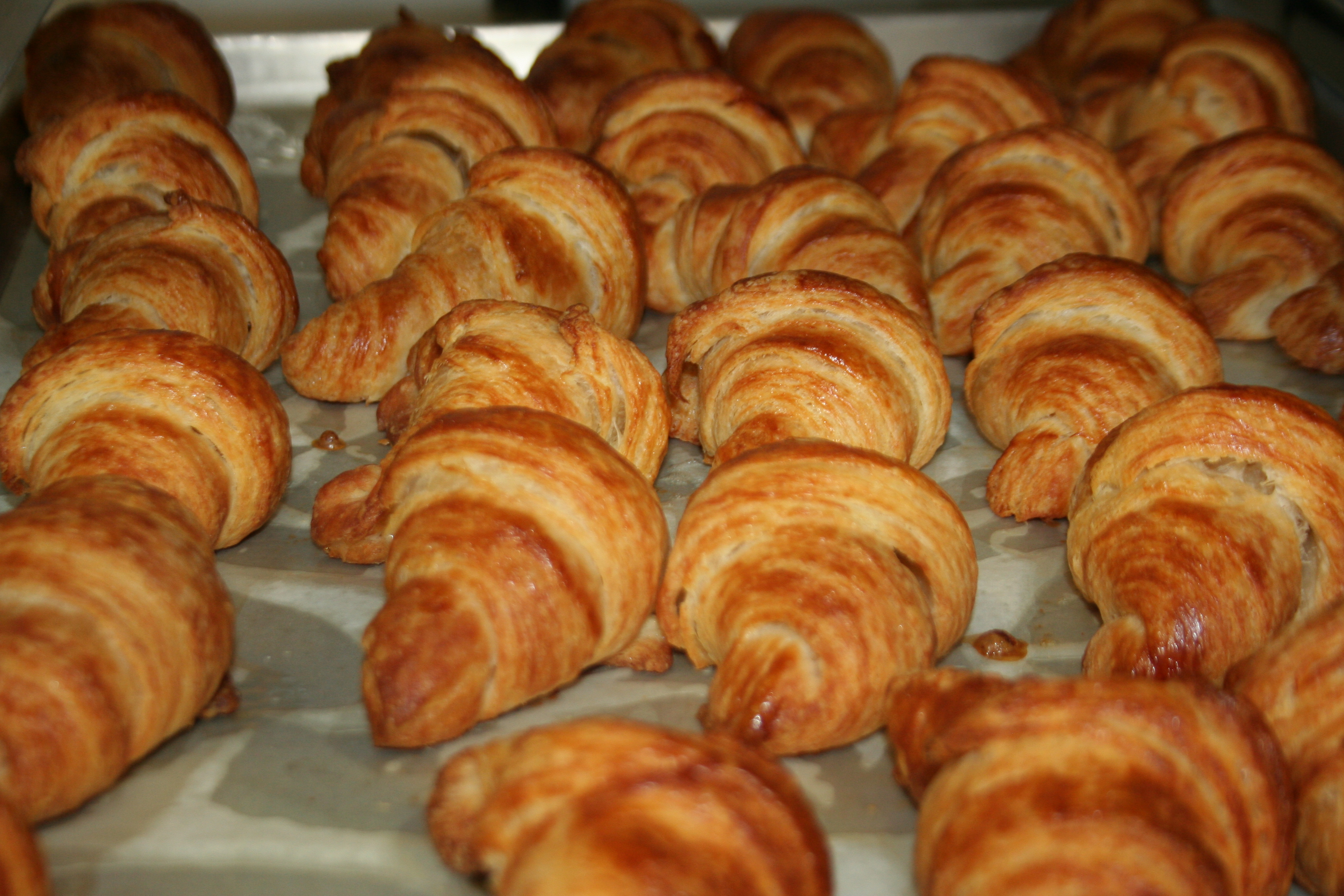 ... they are !! I had the honor of taking a class on French croissants at