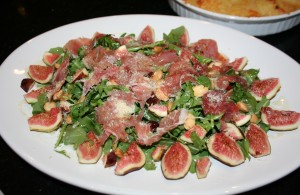 Sunday's Fig & Arugula Salad
