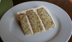 "Banana Cake with the ""BEST"" Cream Cheese Icing"