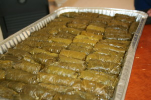 Dolmathes with Avgolemono Sauce