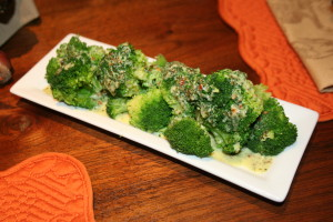 Broccoli with Spicy Green Sauce