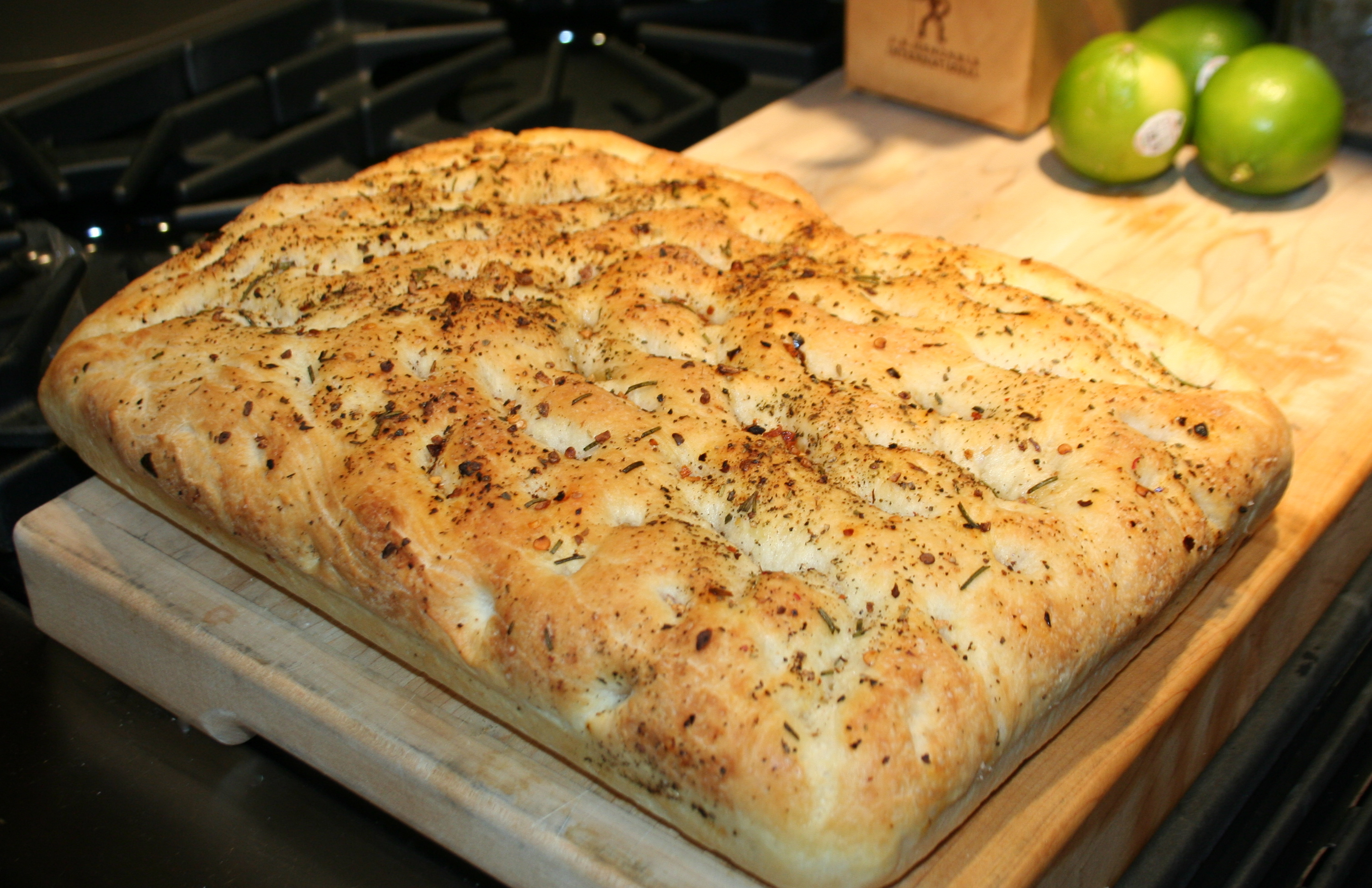 focaccia bread recipe for bread machine