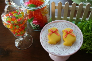 Iced Easter Chicky Cookies