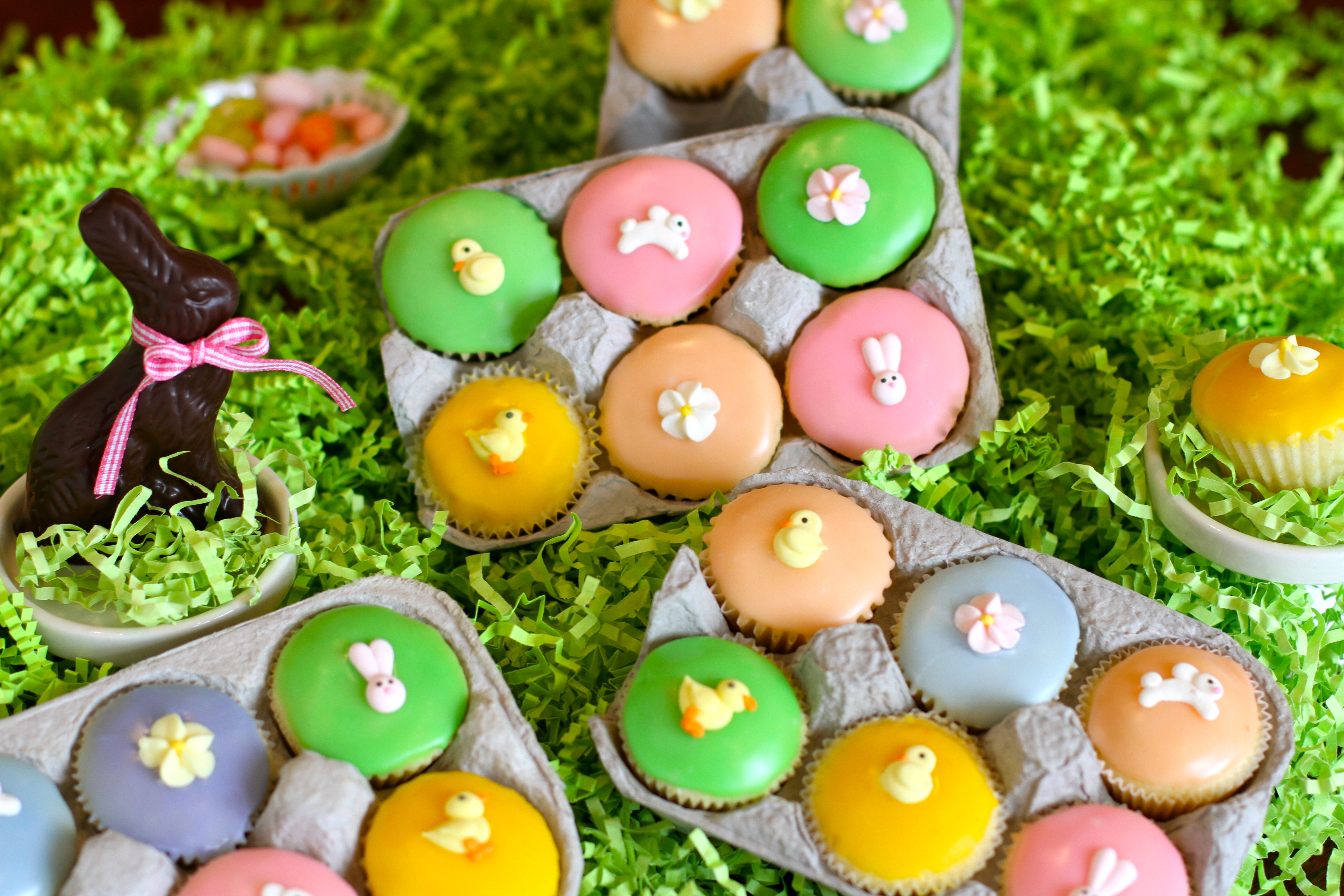 Quot The Cutest Quot Easter Cupcakes Mini Easter Egg Cupcakes