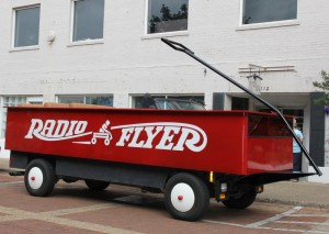 The Largest Radio Flyer Wagon EVER!!