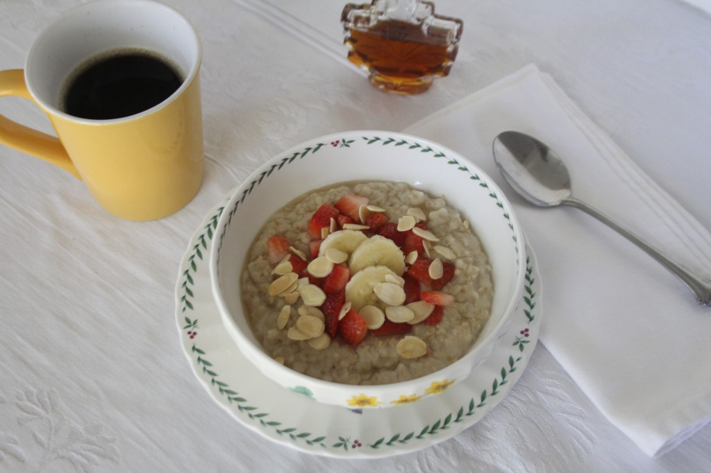 Creamy Slow Cooker Oatmeal