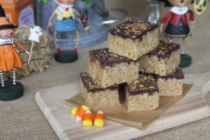 Peanut Butter Rice Crispy Treats