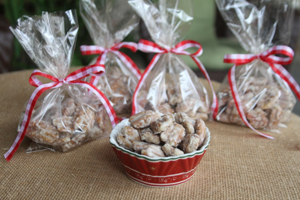 candied pecans ....you'll love em!!