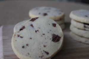 Toblerone Short Bread Cookie
