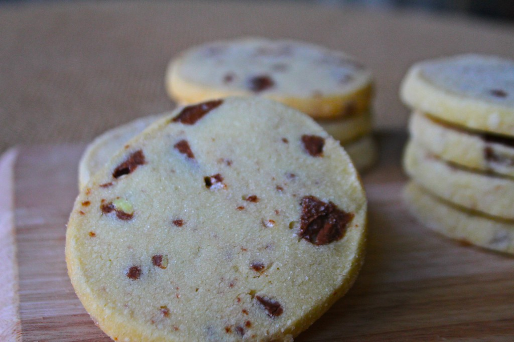 Toblerone Short Bread Cookies