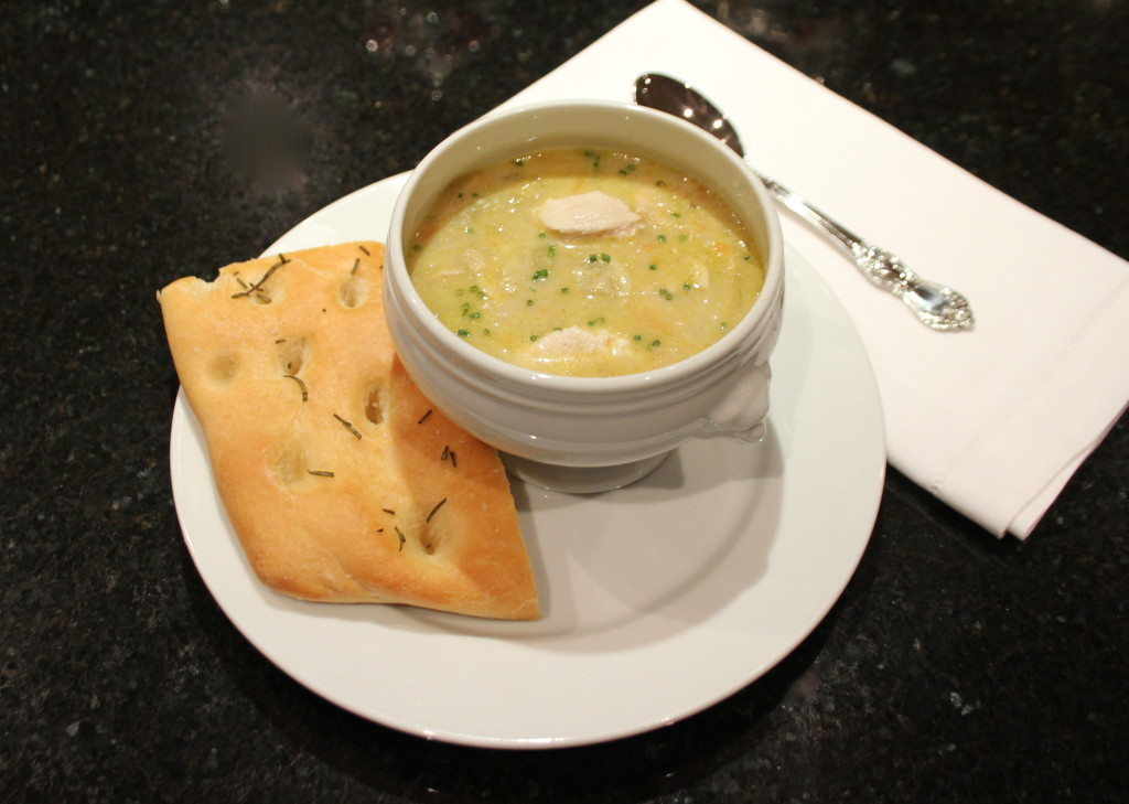 Creamy Chicken and Artichoke Soup