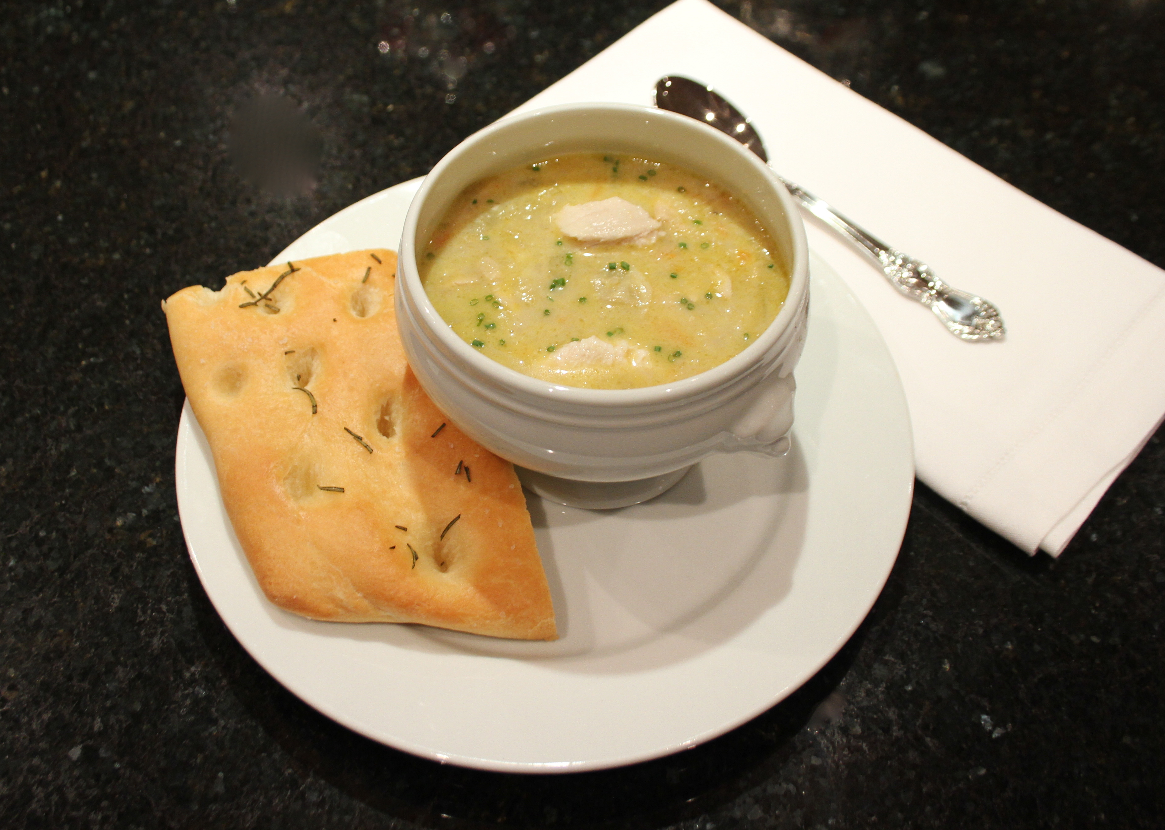 Recipe for home made creamy chicken and artichoke soup | |