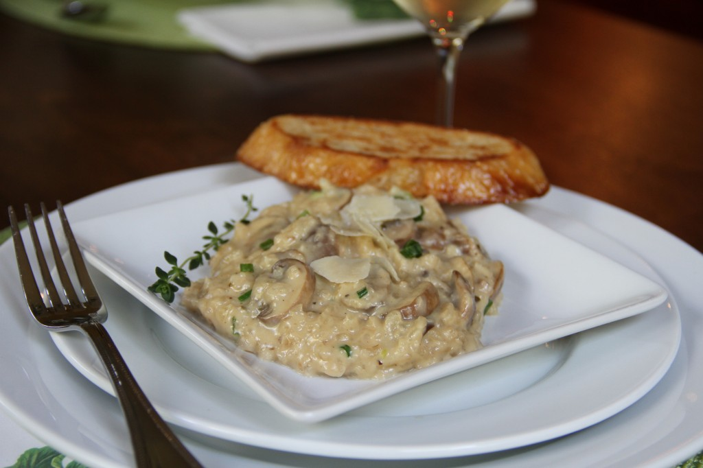Creamy Risotto with Mushrooms