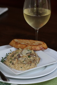 Creamy Risotto with Mushrooms and Parmesan
