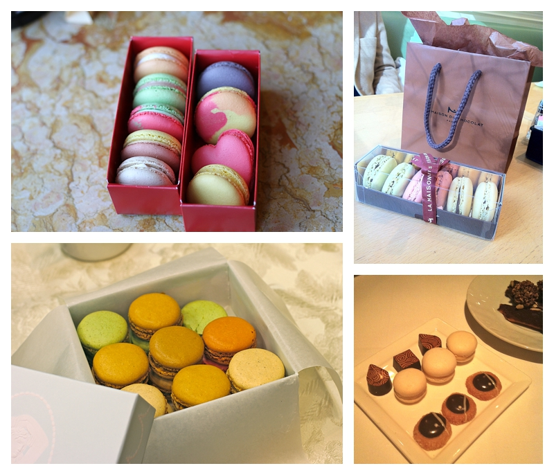 La Maison ~ Financier Patisserie ~ Laduree ~ Gramercy Tavern ~ Per Se ~ CIA