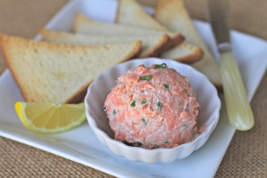 Green Egg Smoked Salmon Salad
