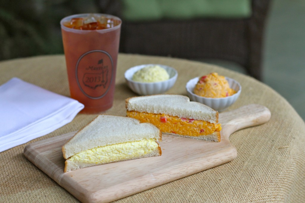 The Masters Egg Salad & Pimento Cheese ~ Angie's Southern Kitchen