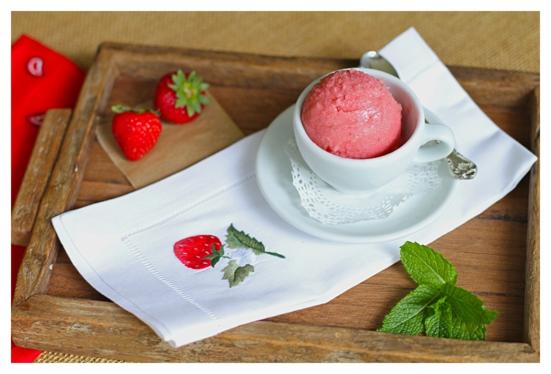 Angie's Strawberry Ice Cream