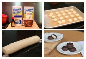 Homemade Mini Peppermint Patties