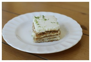 Key Lime Layered Dessert