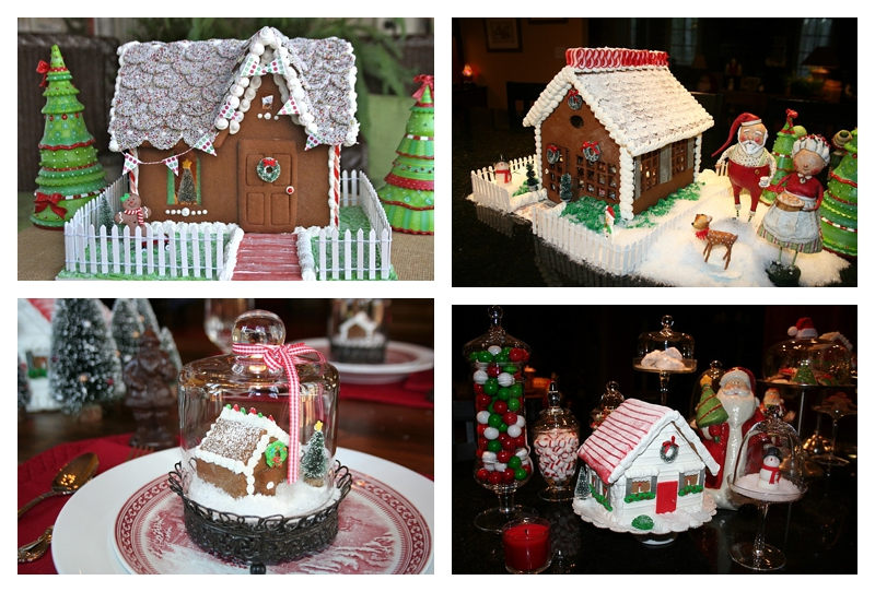 Angie's Gingerbread Houses