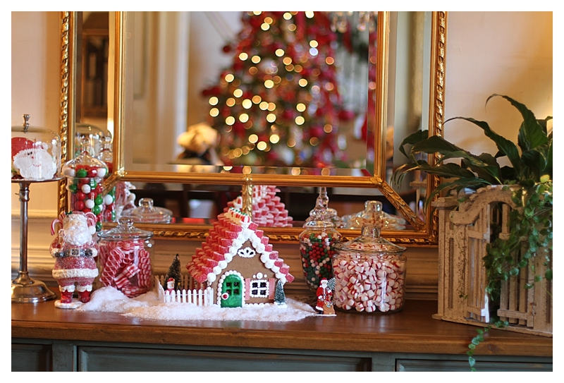 Angie's Southern Kitchen Gingerbread House