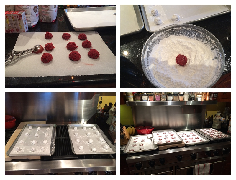 Angie's Red Velvet Cookies