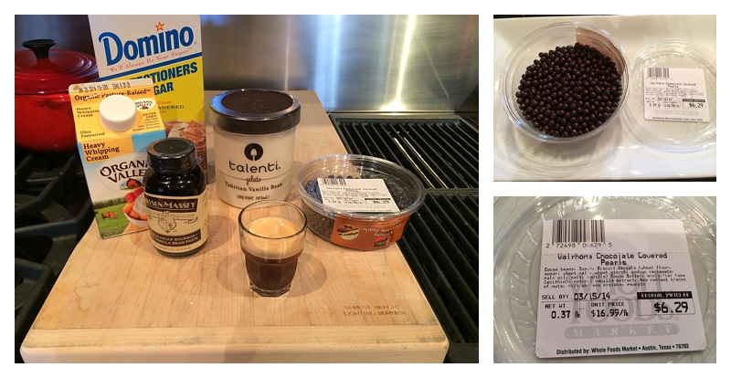 ingredients for affogato