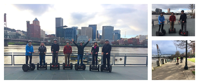 Angie's Segway tours in Oregon