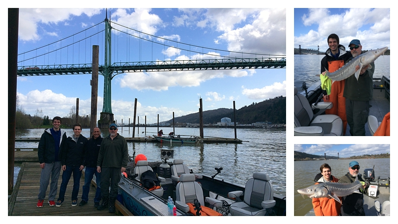 Angie's Fishing Trip in Oregon
