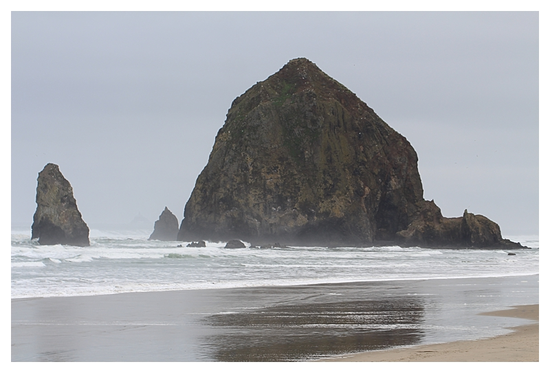 Angie's Trip to Oregon ~ Haystack Rock