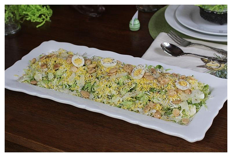 Angie's shaved Brussel Sprouts Salad