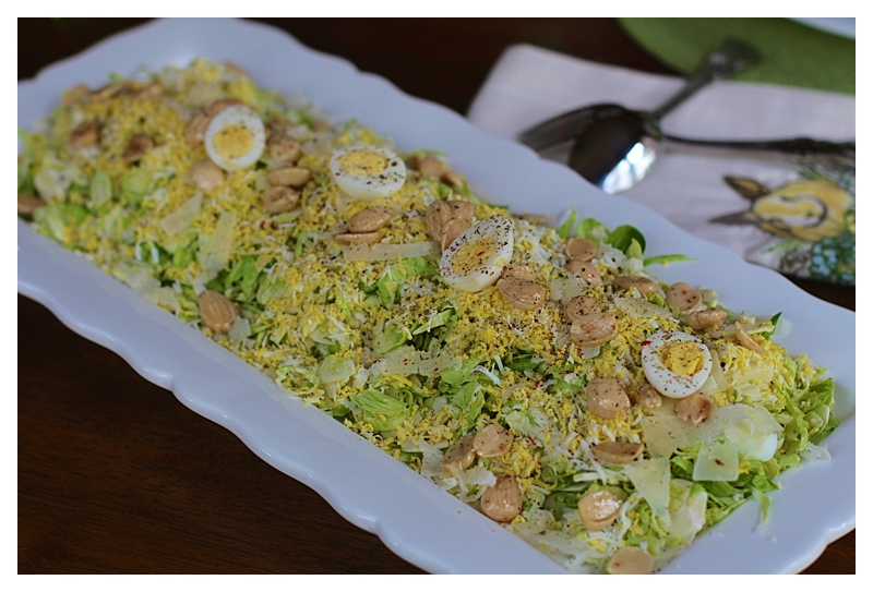 Angie's Shaved Brussel Sprout Salad