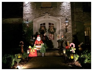Angie's House at Christmas Time