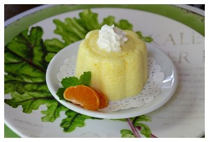 Cold Orange Souffle