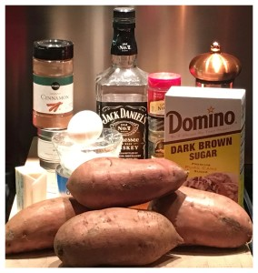 Amazing Bourbon Sweet Potatoes