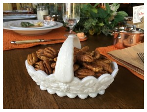 Candied Pecans…easy…so easy