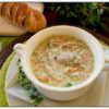 Chicken, Leek and Artichoke Soup